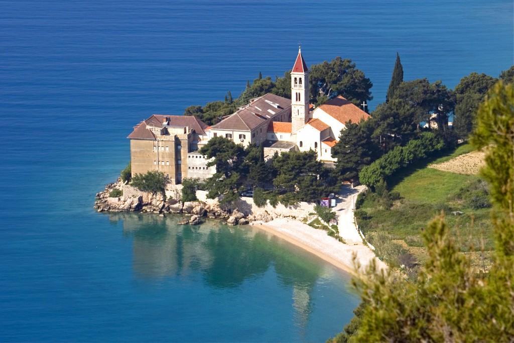 The Dominican Monastery on Glavica peninsula