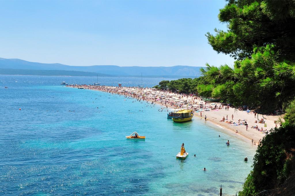 The famous Golden Horn Beach