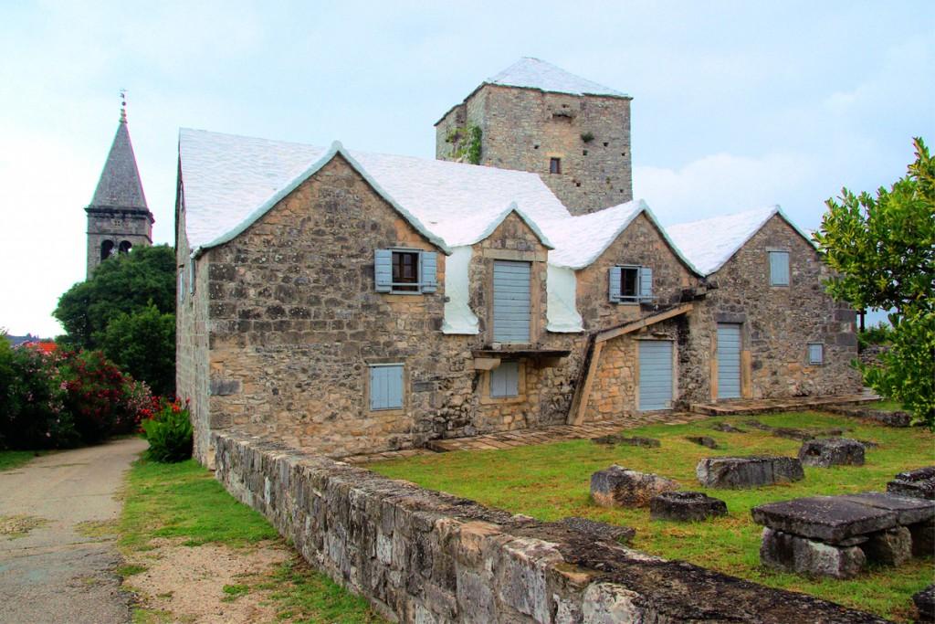 Škrip village on Brač Island