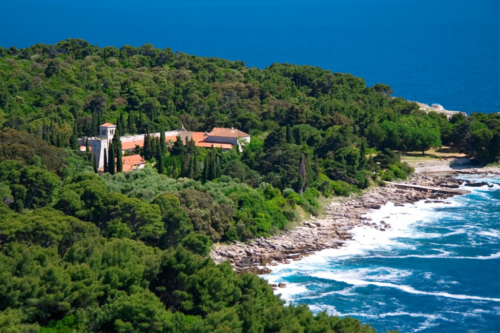 Things to do in Dubrovnik: Benedictine Monastery on Lokrum Island