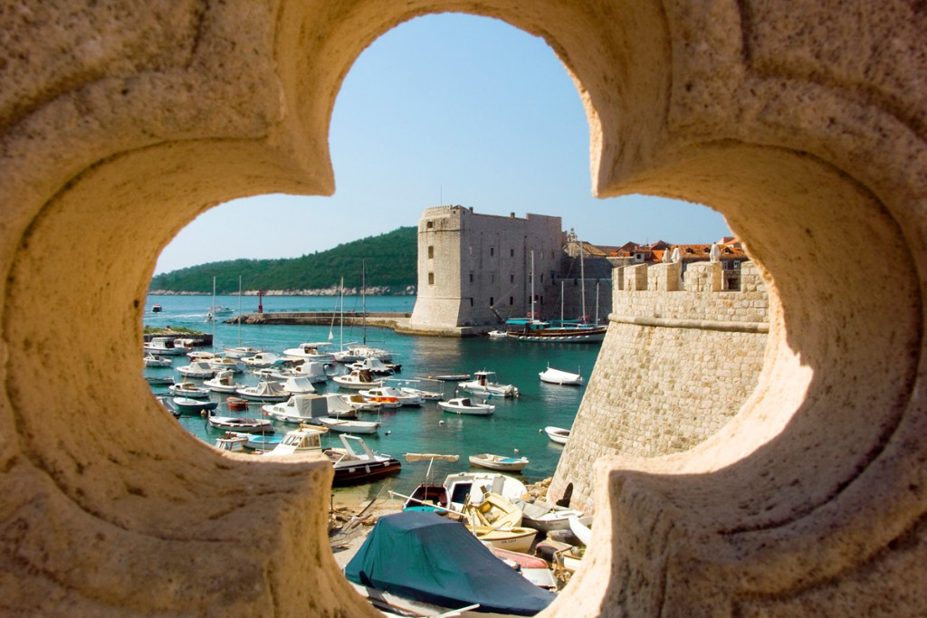 Dubrovnik is a famous movie shooting scenery