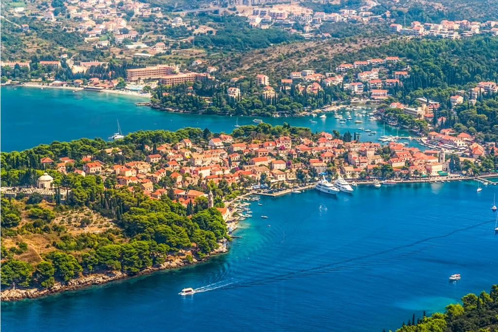 Town Cavtat: The most popular town in Konavle region, on south from Dubrovnik