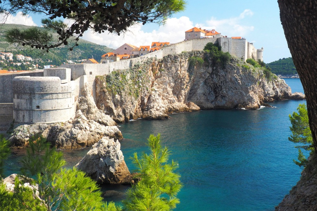 Walls and fortresses of Dubrovnik