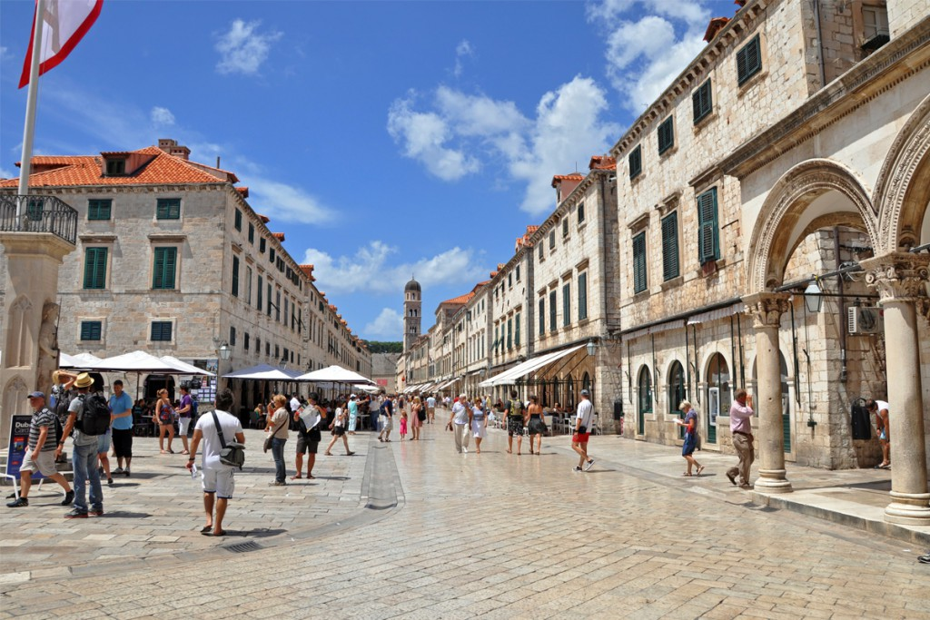 Things to do in Dubrovnik: The famous Stradun Street (Placa)