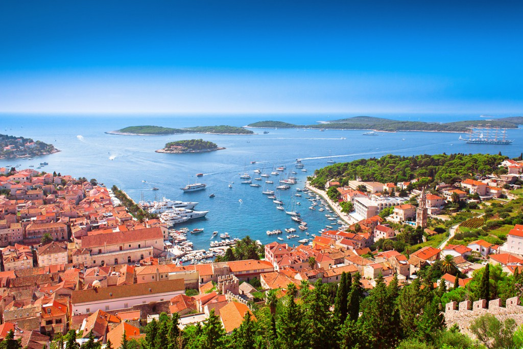 Famous Town Hvar and Pakleni Islands
