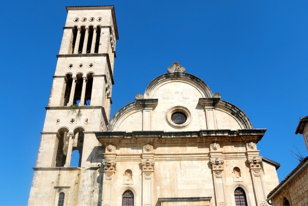 The Cathedral of St. Stephen in town Hvar
