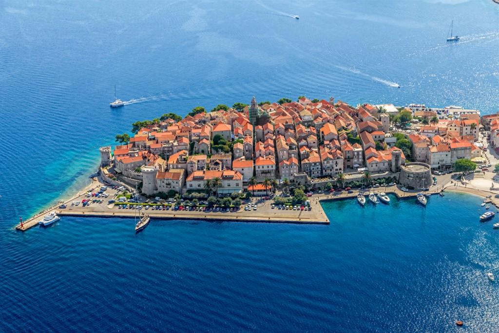 Sightseeing Town Korčula