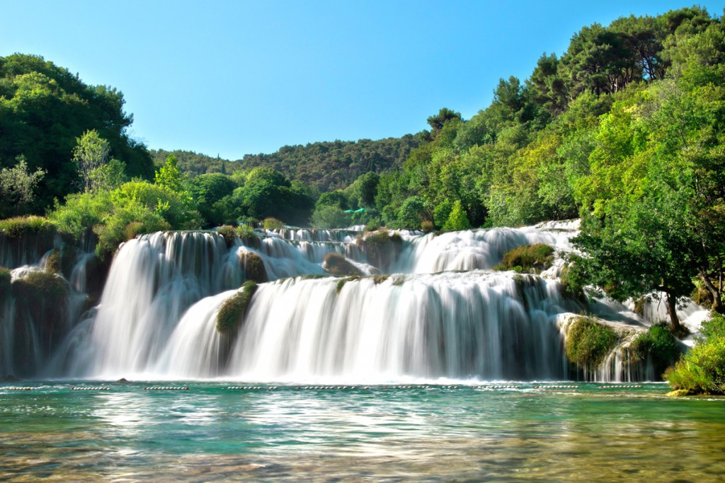 Driving around Dalmatia: Krka Waterfalls