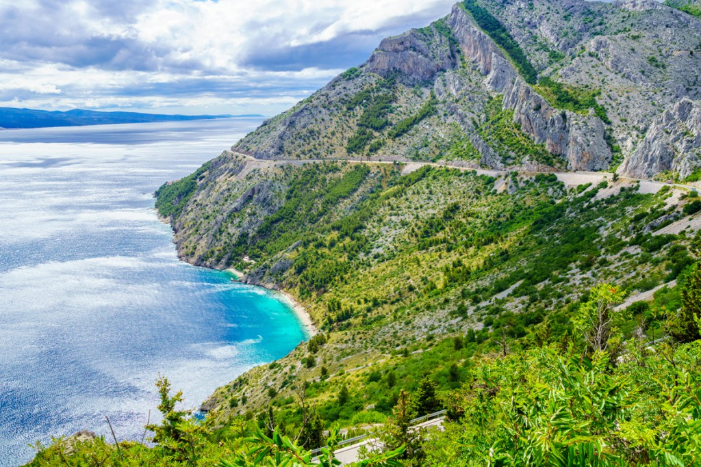 Makarska Riviera: Biokovo mountain and the beach