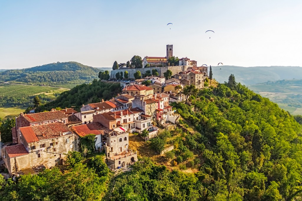 Getting around Istria: hilltop town Motovun