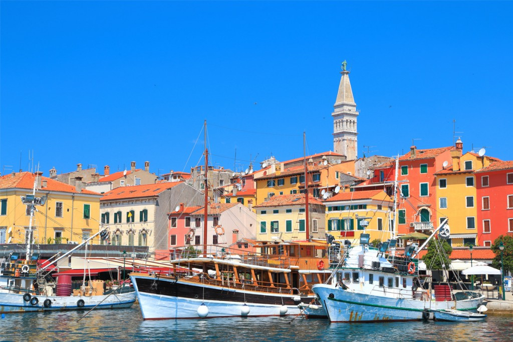 The choice of accommodation in Rovinj is fantastic