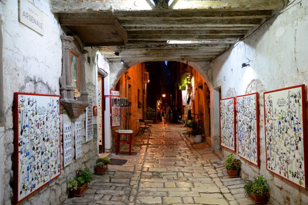 Get to know Rovinj: charming street in Rovinj