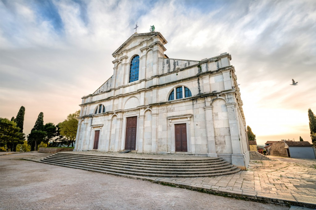 Things to do in Rovinj: The church of St. Euphemia in Venetian baroque style