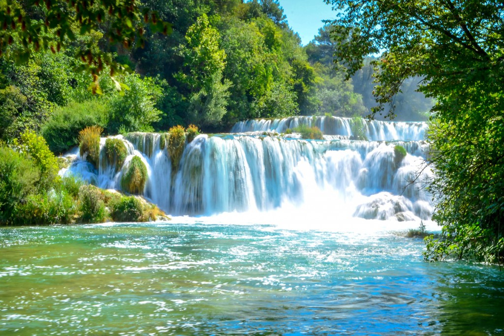 Krka Waterfalls near Šibenik