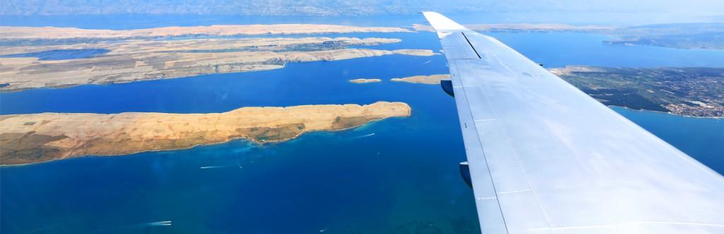 Flying to Brač Airport
