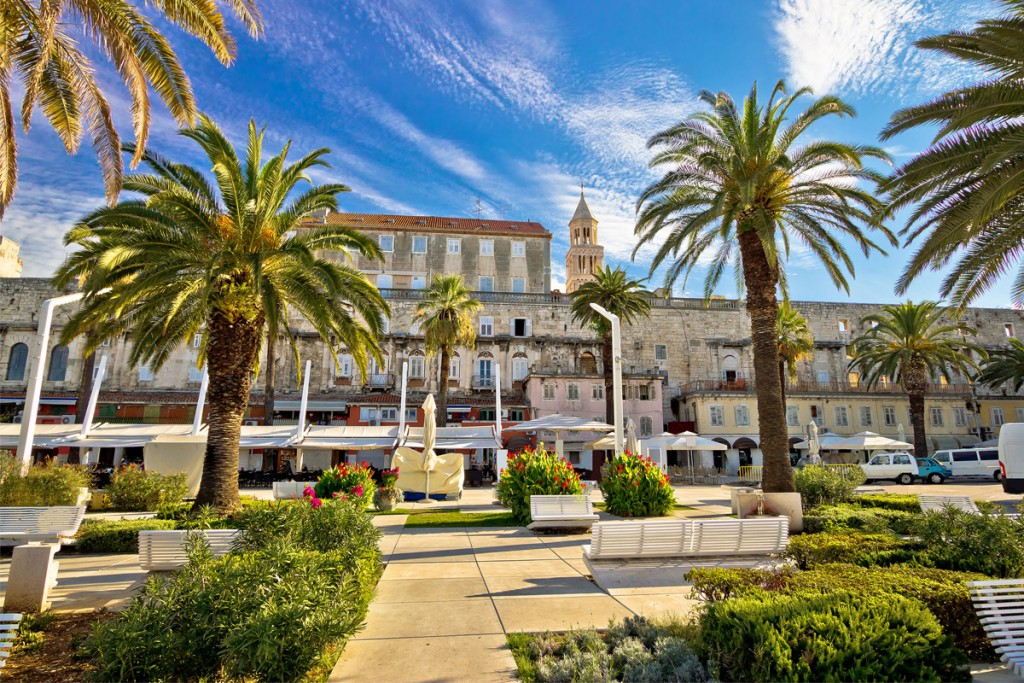 Split is the heart of Dalmatian coast