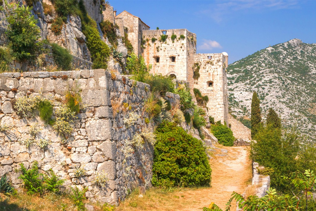 Things to do in Split: the old Klis fortress
