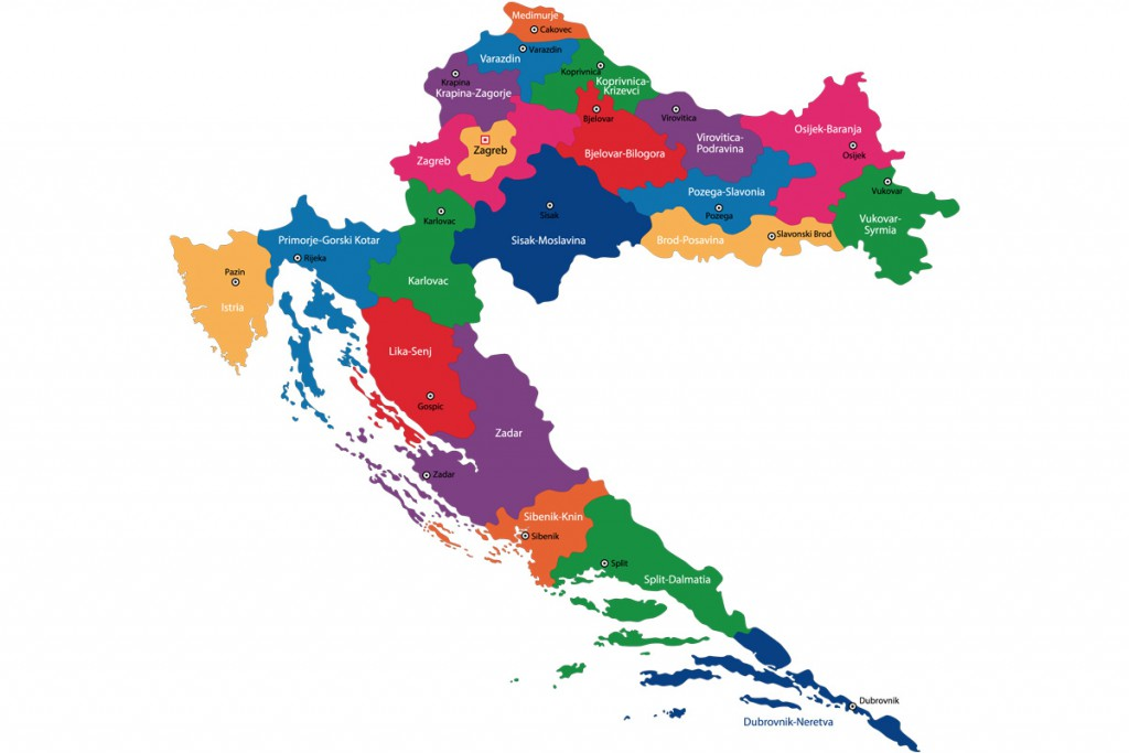 Croatian counties
