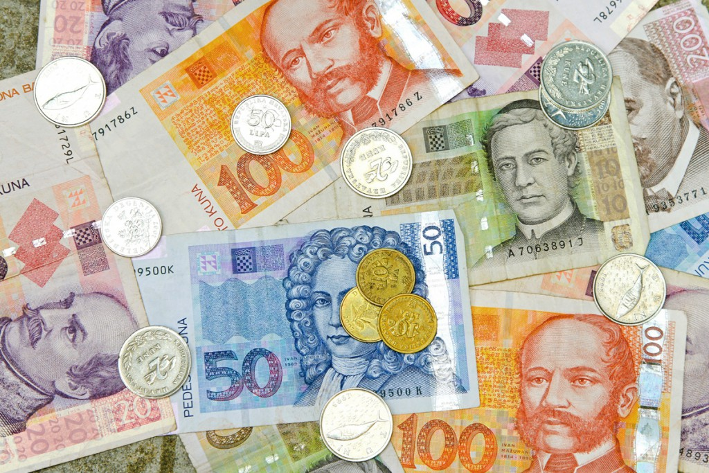 The Croatian money: It's Kuna