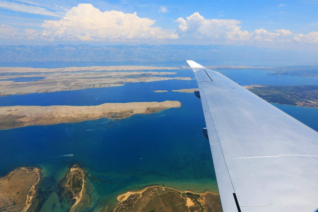 Flying to Brač Airport