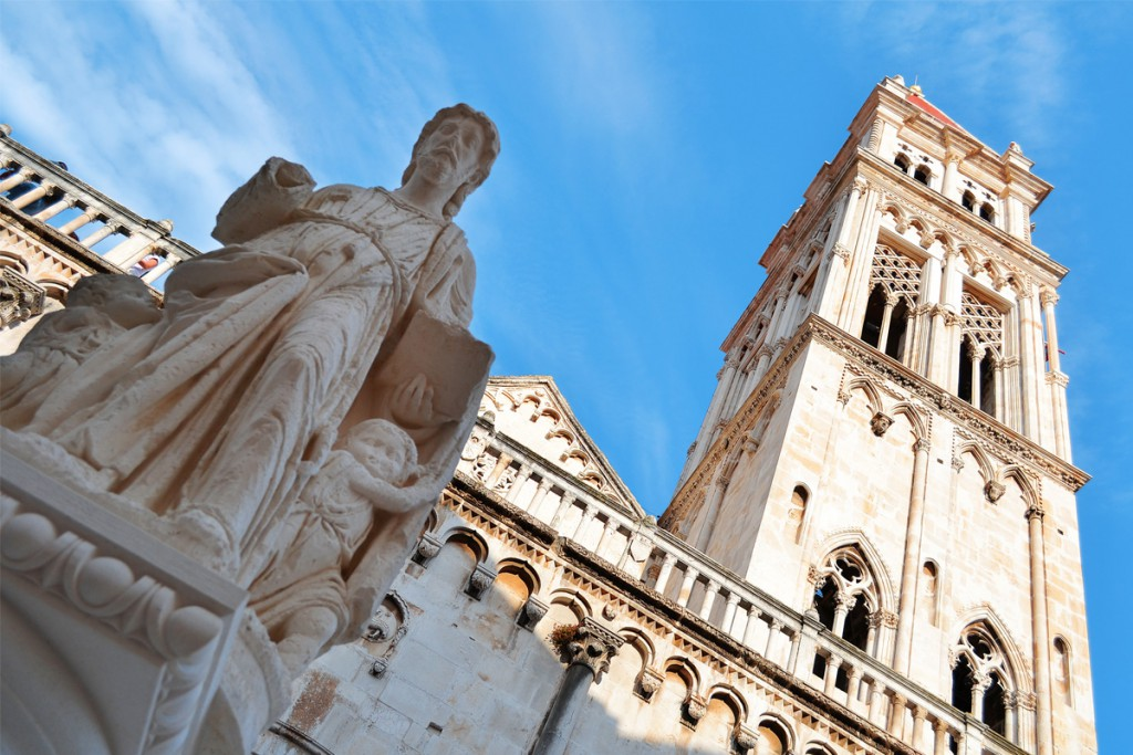 Things to do in Trogir: The Cathedral of St. Lawrence