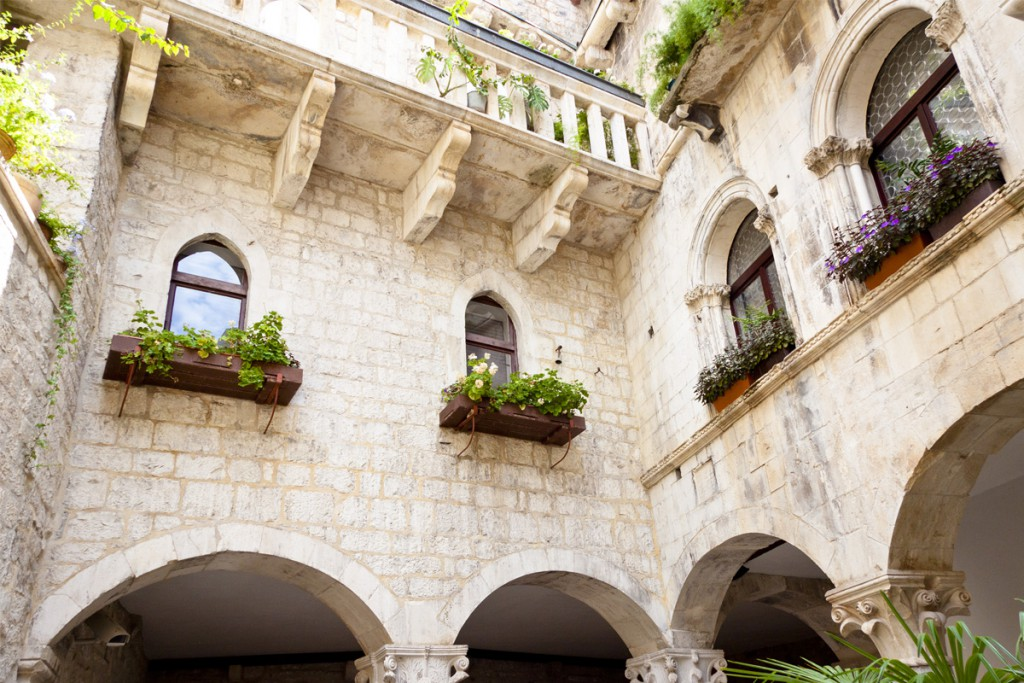 Get to know Trogir: The old house in Venetian style