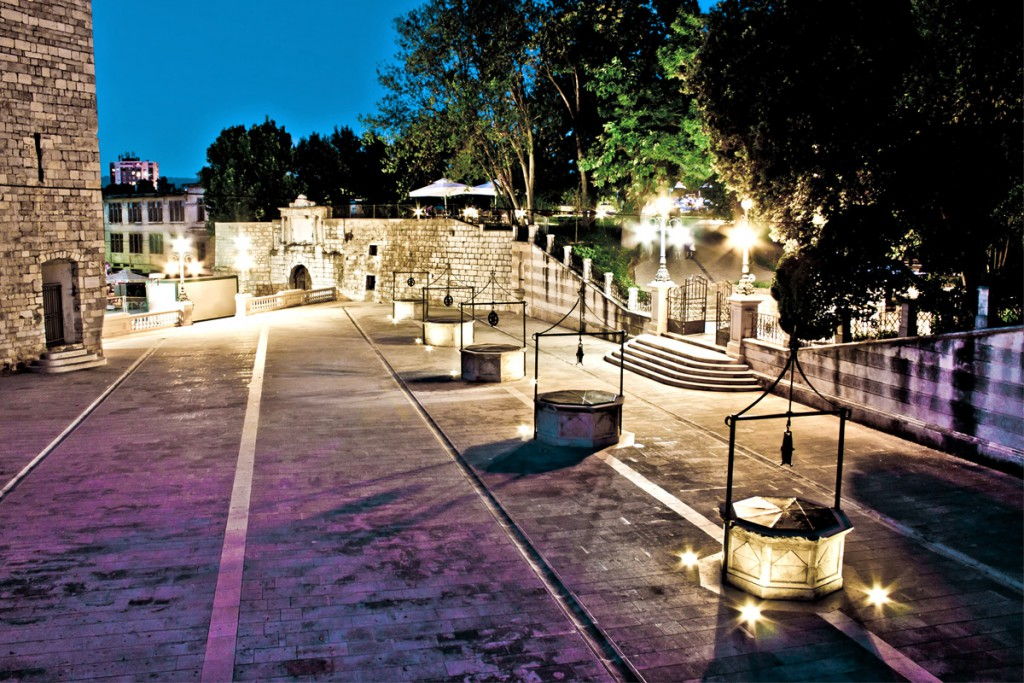 Things to do in Zadar: Five Wells Square