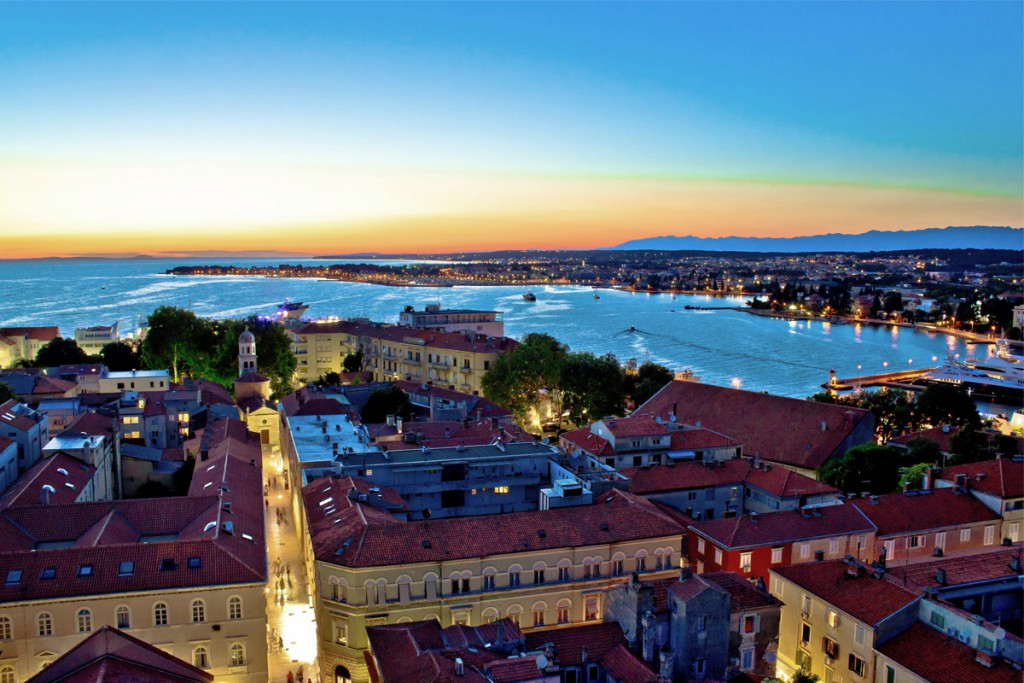 Get to know the sunset in Zadar