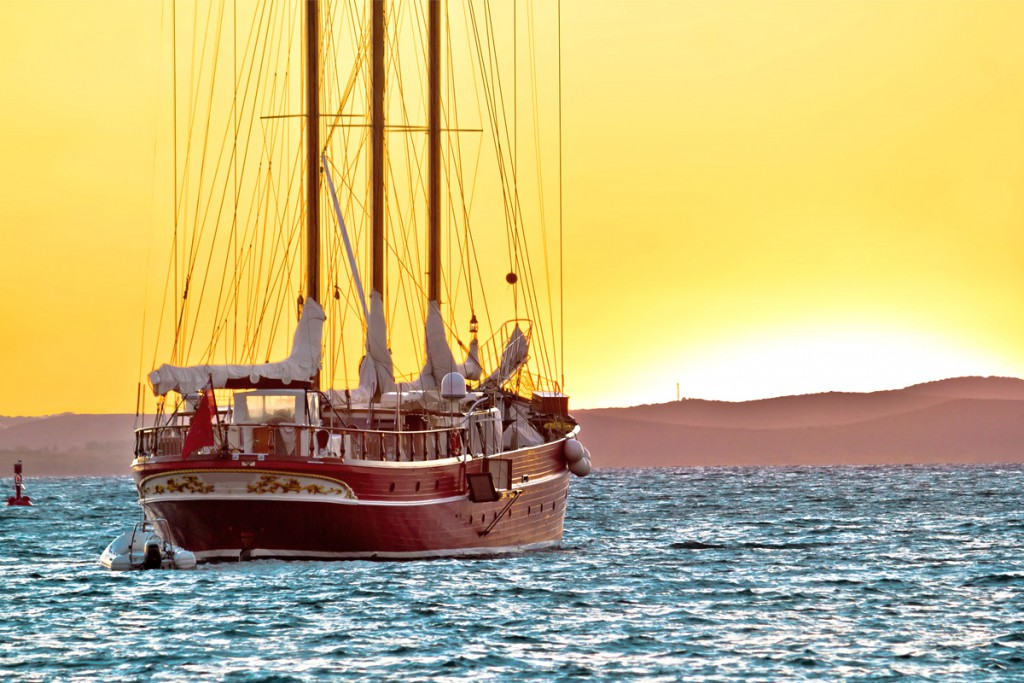 Zadar is a popular sailing destination
