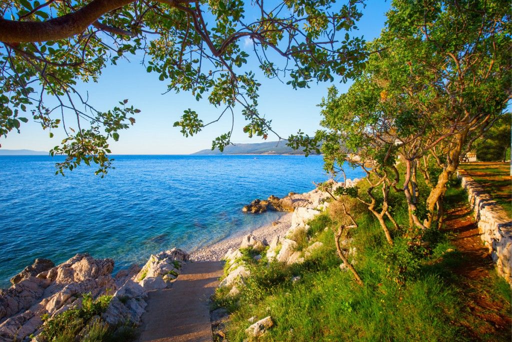 Beautiful bay near Poreč