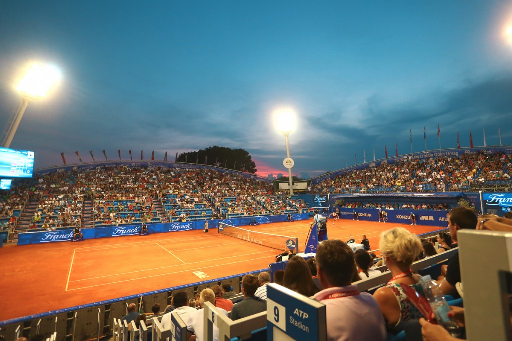 ATP Tennis Championship in nearby Umag