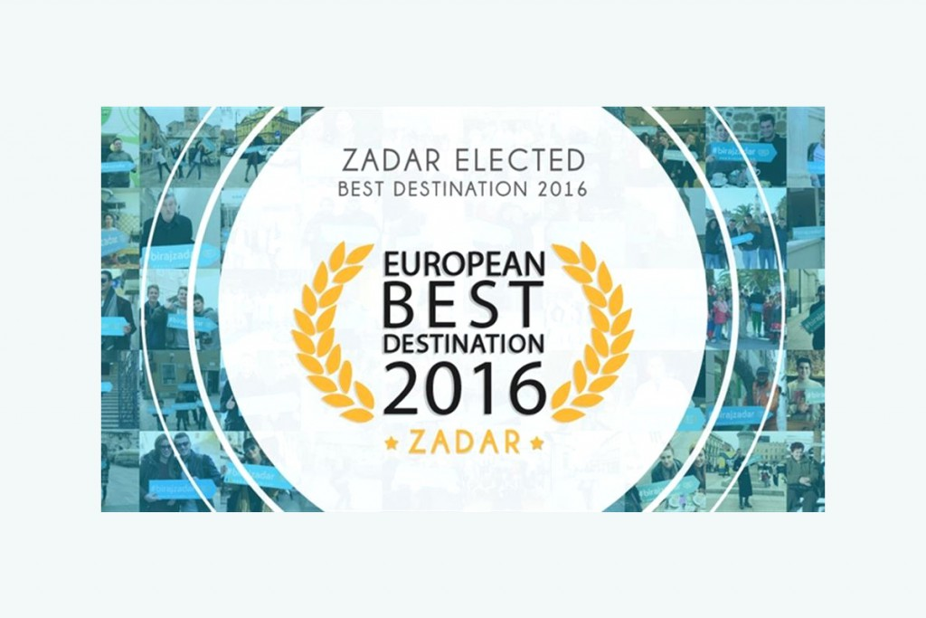 Zadar: The European Best Destination 2016